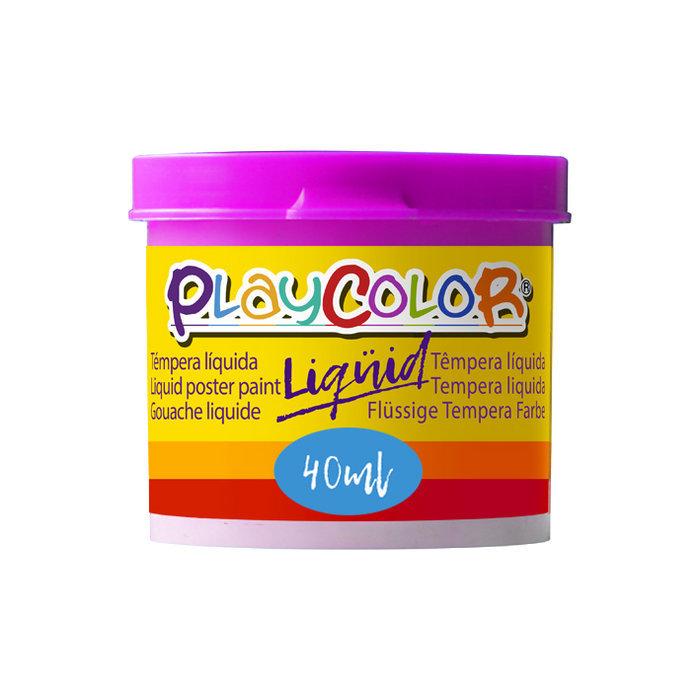 Tempera playcolor liquid 40 ml monocolor magenta