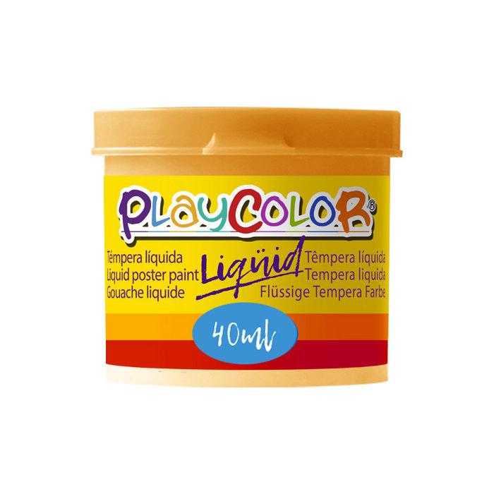 Tempera playcolor liquid 40 ml monocolor carne 6