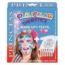 Set playcolor maquillaje y camiseta princess