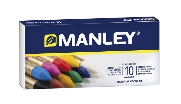 Cera manley 10 colores ref 110