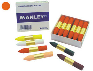 Cera manley nº 06 naranja