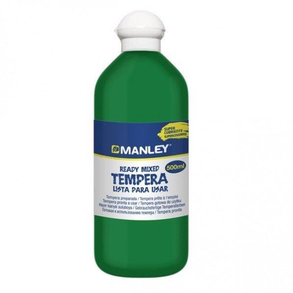 Tempera preparada verde oscuro (24)