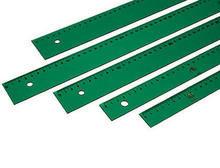 Regla faber 30cm verde
