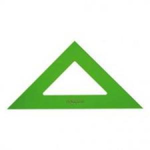 Escuadra faber 16cm verde 566-16