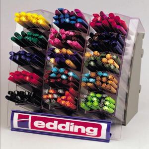 Expositor 200 rotuladores edding 1200 colores surtidos