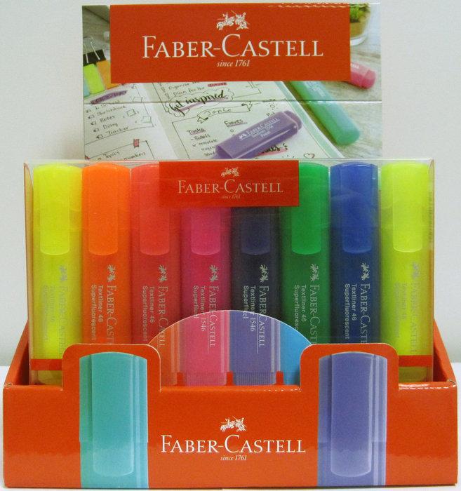 Marcador textliner pack 8 col fluorescente expositor 10 uds