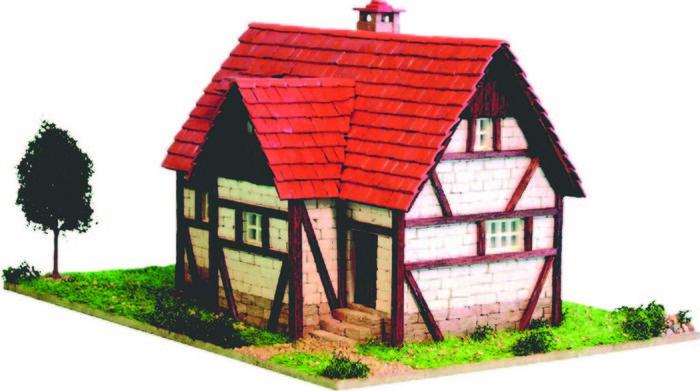 Kit de construccion casa alpina mini