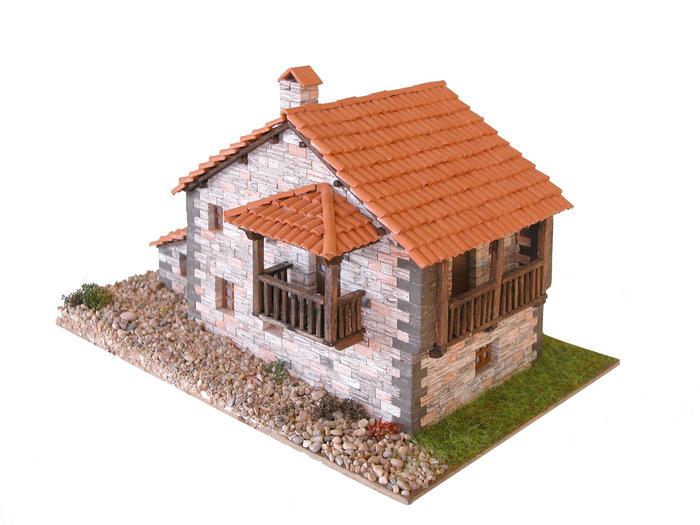 Kit de construccion casa tipica cantabria