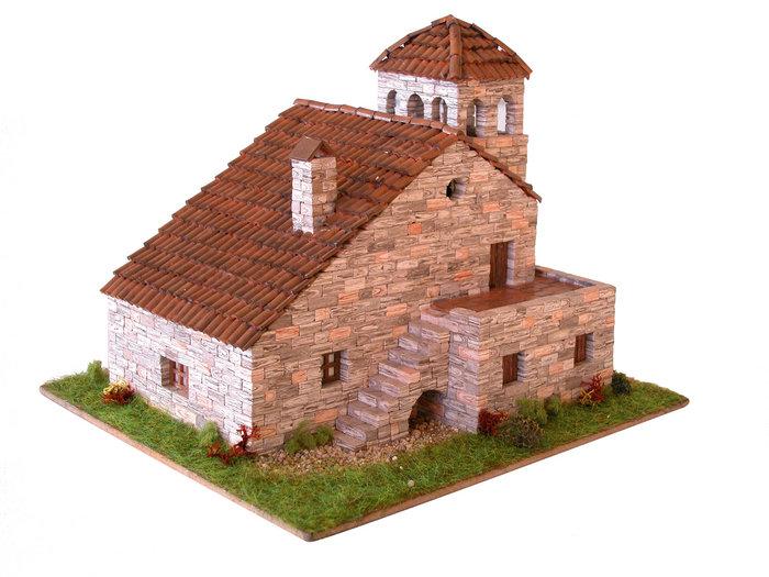 Kit de construccion casa tipica pirenaica 1