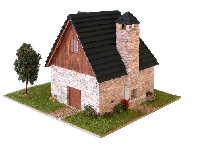 Kit de construccion casa tipica pirenaica 2