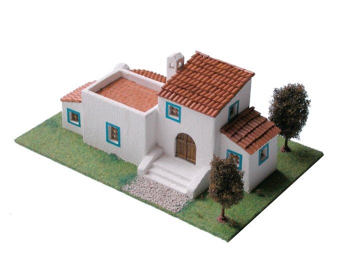Kit de construccion casa tipica ibicenca