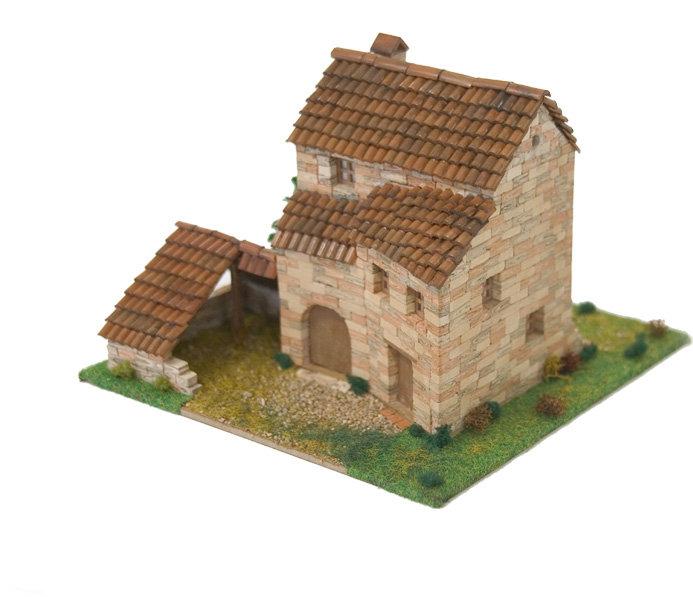 Kit de construccion casa rural 1 escala ho