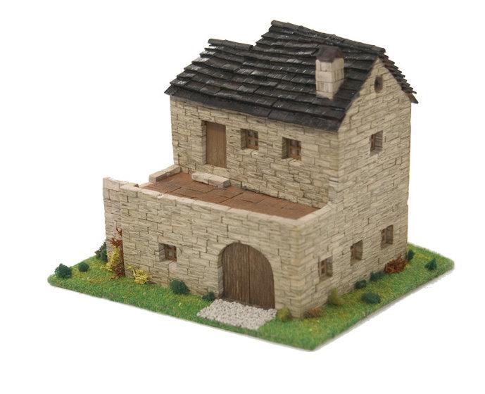 Kit de construccion casa rural 2 escala ho