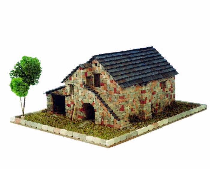 Kit de construccion casa tipica de huesca
