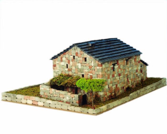 Kit de construccion casa rural de leon (30x18x14)