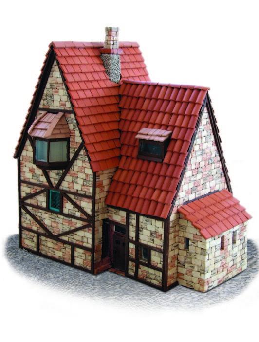 Kit de construccion casa alpina grande