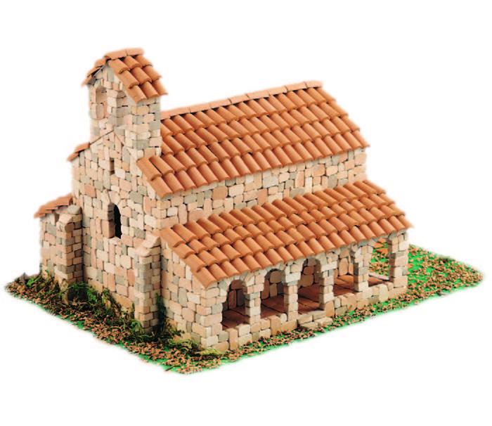Kit de construccion ermita romanica