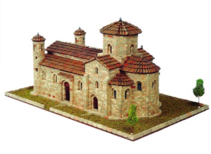 Kit de construccion iglesia de san martin de fromista