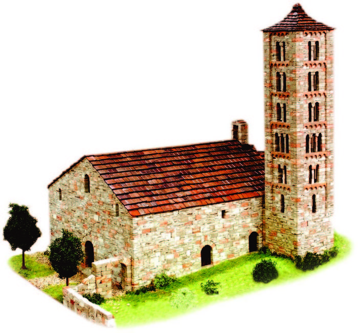 Kit de construccion iglesia de sant climent de boi