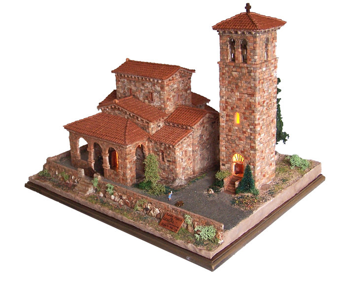 Kit de construccion iglesia de santa maria de lebeÑa