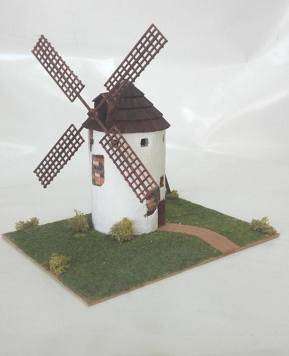 Kit de construccion molino de la mancha