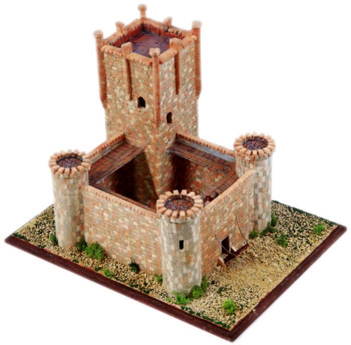 Kit de construccion castillo de torrelobaton