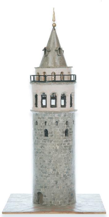 Kit de construccion torre galata (estambul)