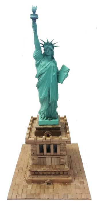 Kit de construccion estatua de la libertad