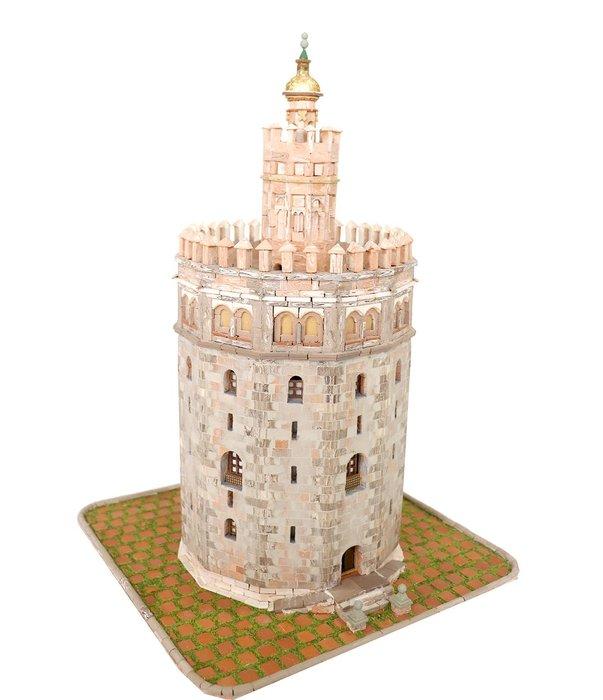 Maqueta torre del oro