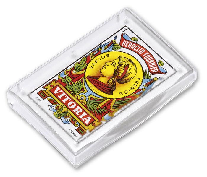 Baraja cartas española 27/50 c/plastico