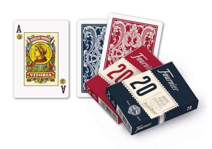 Baraja cartas poker español 20/55
