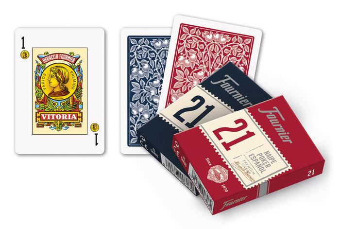 Baraja cartas poker español 21/41