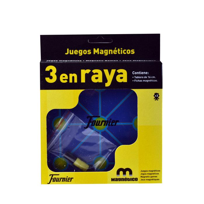 Juego magnetico 3 en raya