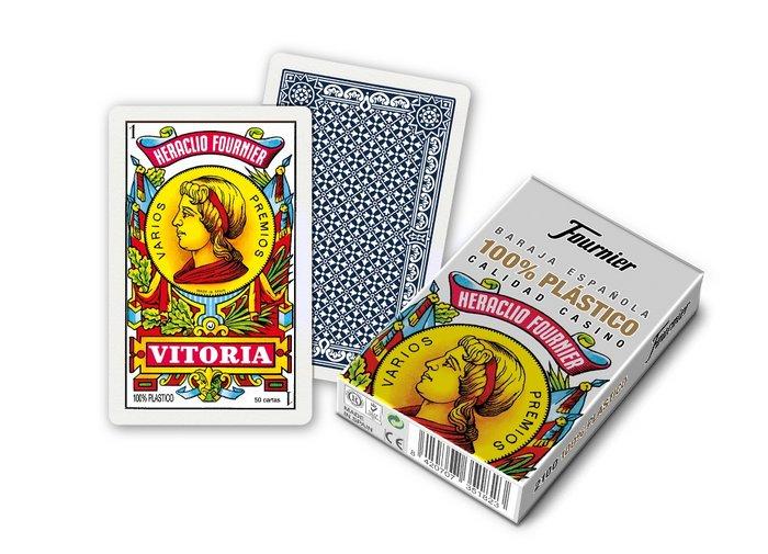 Baraja espaÑola de plastico 50 cartas nº 2100