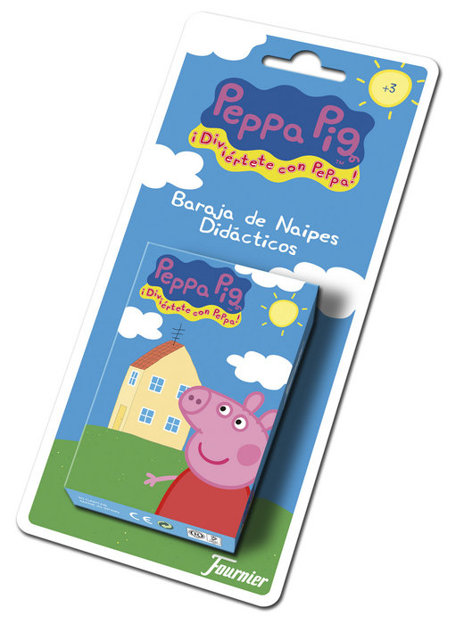 Baraja cartas infantil peppa pig
