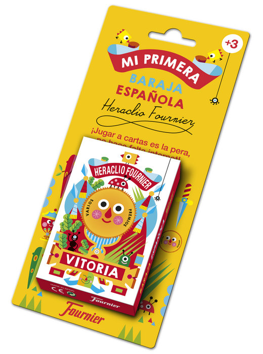 Baraja cartas infantil mi primera baraja española