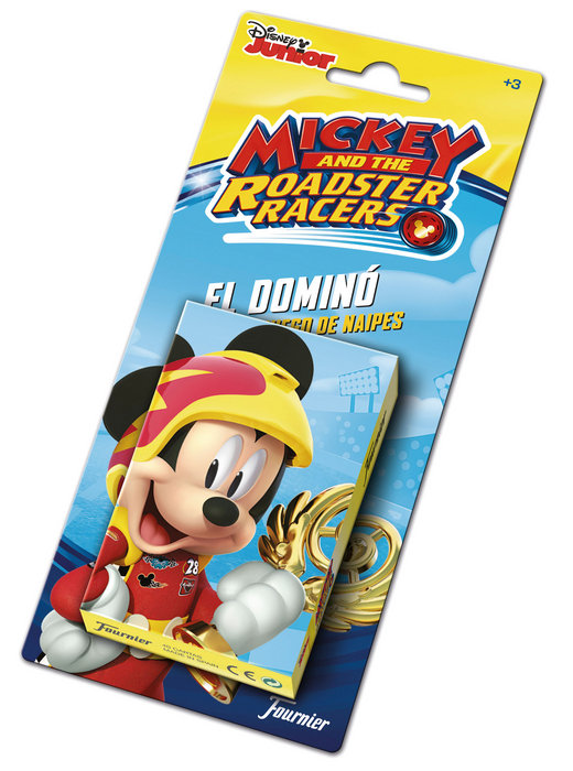 Baraja cartas infantil mickey and the roadster racers