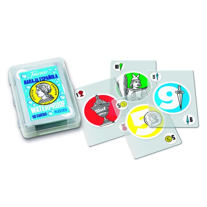 Baraja espaÑola 50 cartas de plastico