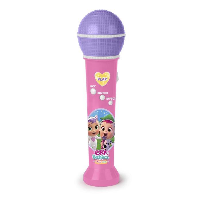 Bebe lagrimas magicas microfono grabador