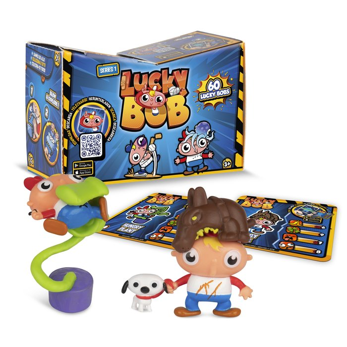Lucky bob pack 2 figuras