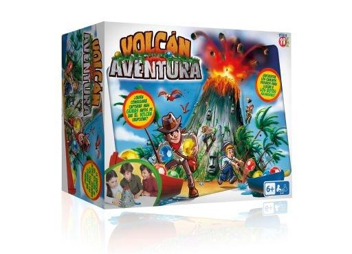 Juego volcan aventura