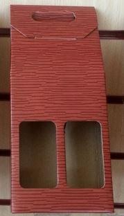 Botellero doble rojo