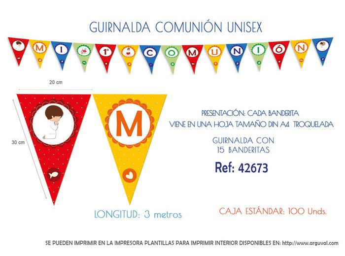 Guirnalda comunion unisex
