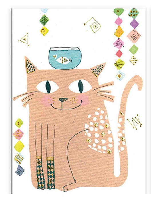 Mini cuaderno notas gato turnowsky (14.5x10.5)