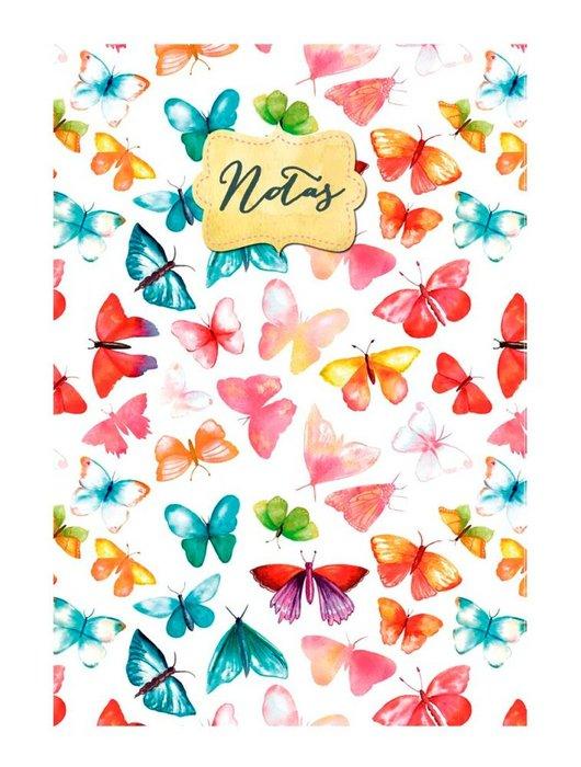 Cuaderno notas a6 mariposas (10.5x14.8)
