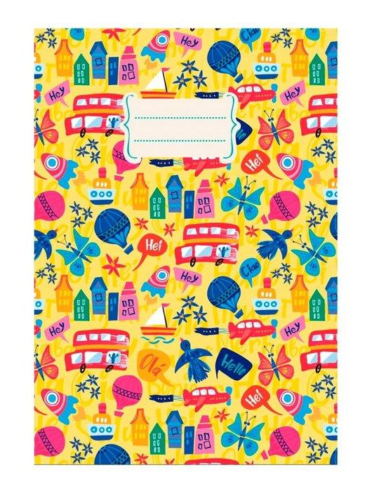 Cuaderno a6 notas liso transportes (10.5x14.8)