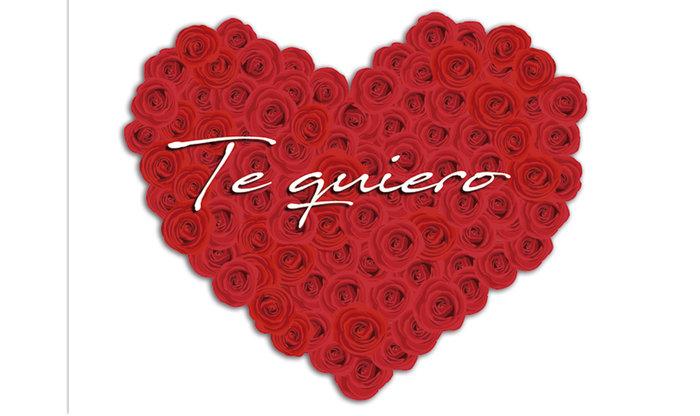 Mini card corazon te quiero