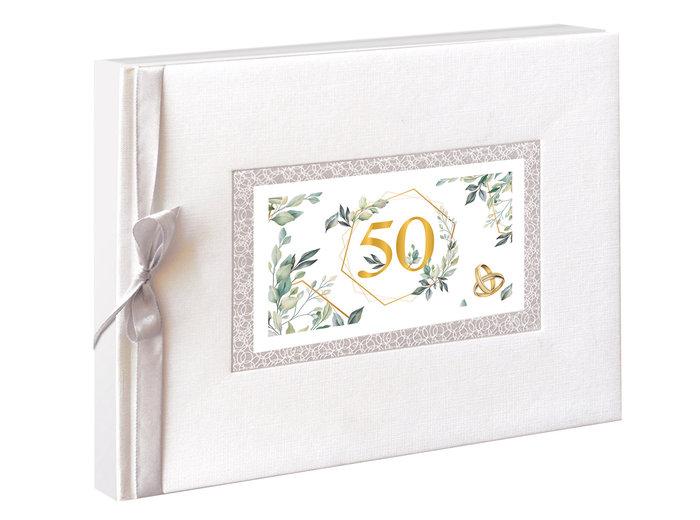Libro de firmas bodas oro