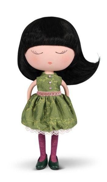 Muñeca anekke 32cm traje verde