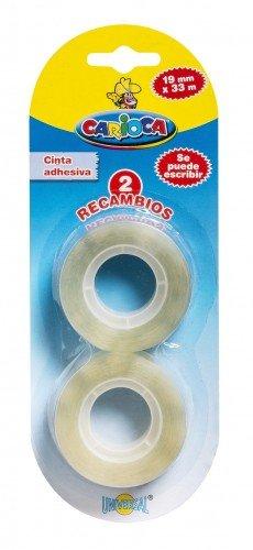 Cinta adhesiva recambios blister 2 uds